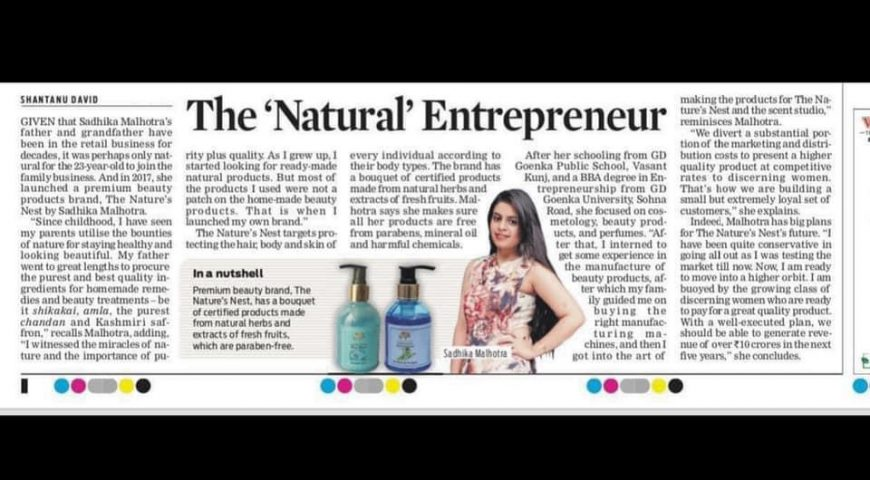 THE 'NATURAL' ENTREPRENEUR